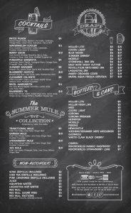 Roscoe's Cafe Menu